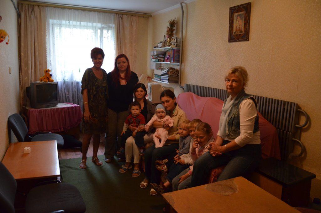 Besuch im psychosozialen Zentrum Rodyna