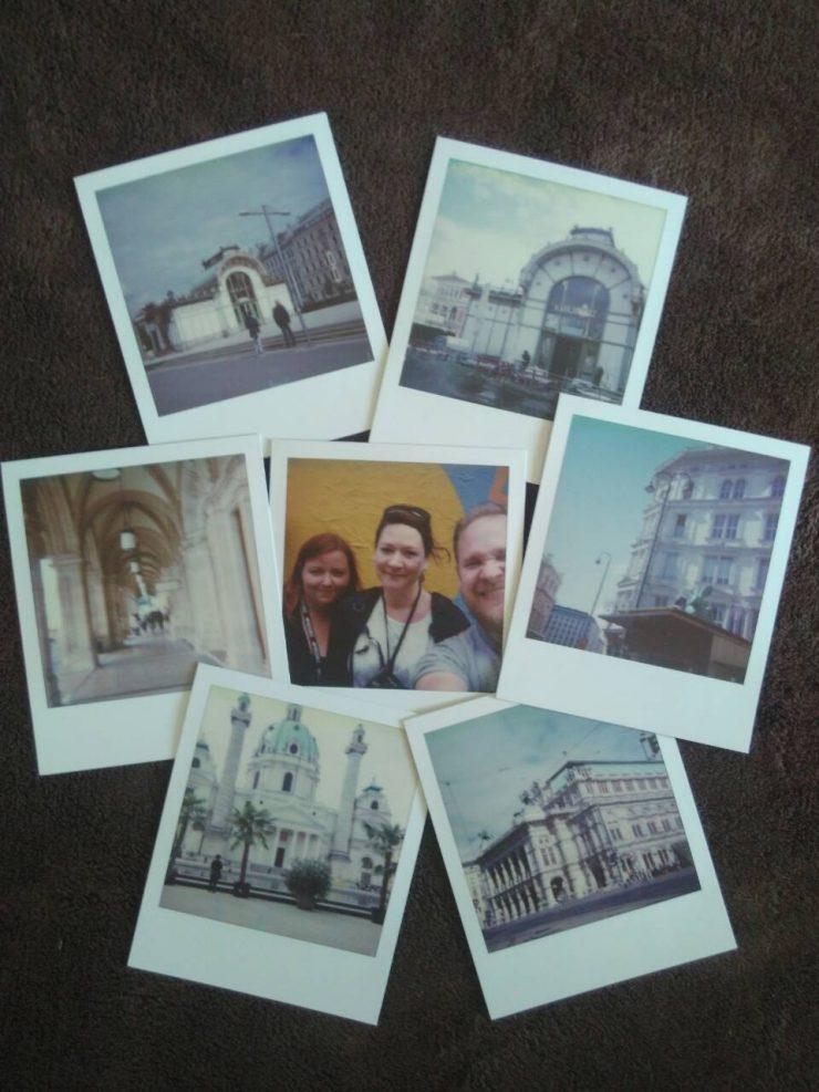 Polaroids von der Sophort-Tour