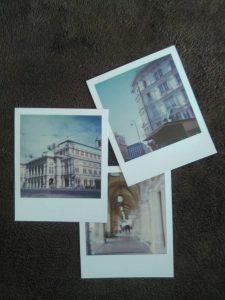 Sophort-Polaroids von der Staatsoper