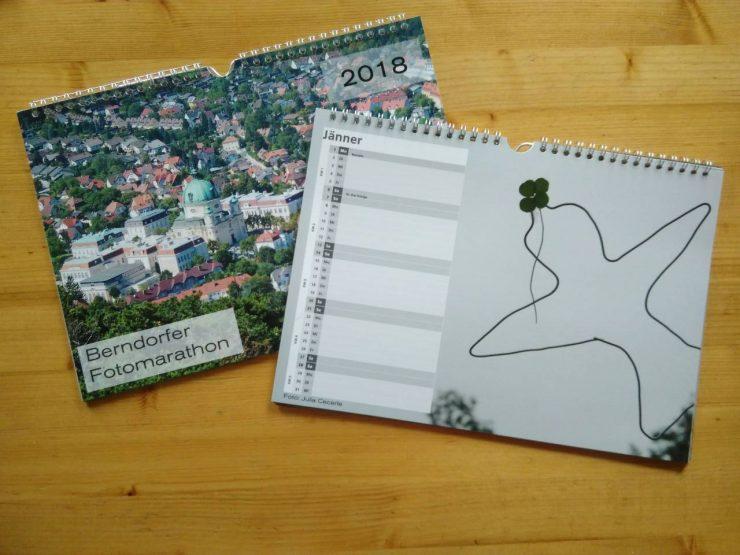 Berndorfer Fotomarathon Kalender 2018